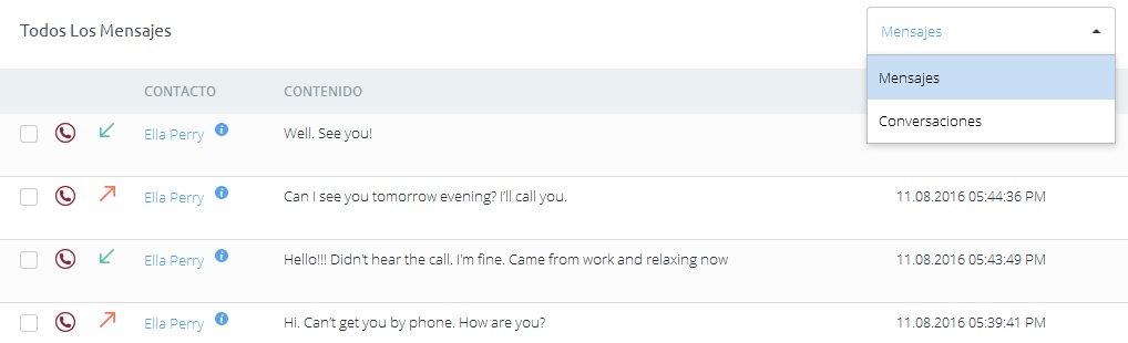Mensajes SMS espiar